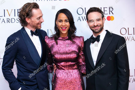 Tom Hiddleston, Zawe Ashton and Charlie Cox