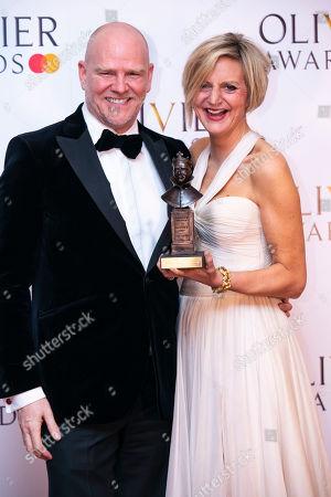 Editorial photo of The Olivier Awards, Press Room, Royal Albert Hall, London, UK - 07 Apr 2019