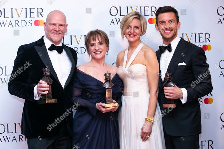 Editorial picture of The Olivier Awards, Press Room, Royal Albert Hall, London, UK - 07 Apr 2019