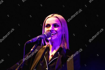 Editorial image of Amy Macdonald in concert, Teatro degli Arcimboldi, Milan, Italy - 05 Apr 2019