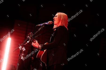 Editorial picture of Amy Macdonald in concert, Teatro degli Arcimboldi, Milan, Italy - 05 Apr 2019