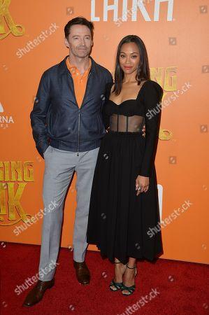 Hugh Jackman, Zoe Saldana