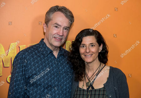 "Stock Photo of Carter Burwell, Christine Sciulli. Carter Burwell, and Christine Sciulli attend the premiere of ""Missing Link"" at Regal Cinemas Battery Park, in New York"