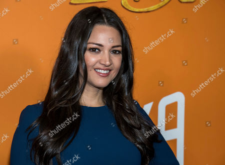 """Paula Garces attends the premiere of """"Missing Link"""" at Regal Cinemas Battery Park, in New York"""