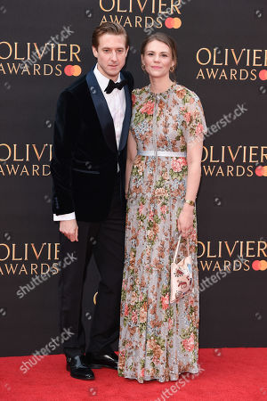 Stock Picture of Arthur Darvill and Ines De Clercq