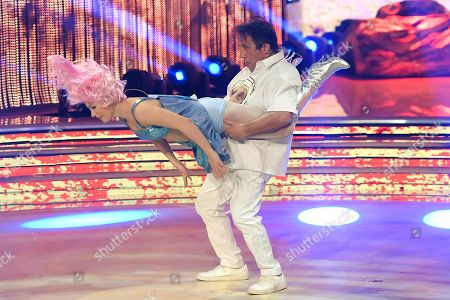 Editorial image of 'Dancing with the stars' TV show, Rome, Italy - 06 Apr 2019