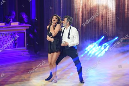 Editorial picture of 'Dancing with the stars' TV show, Rome, Italy - 06 Apr 2019