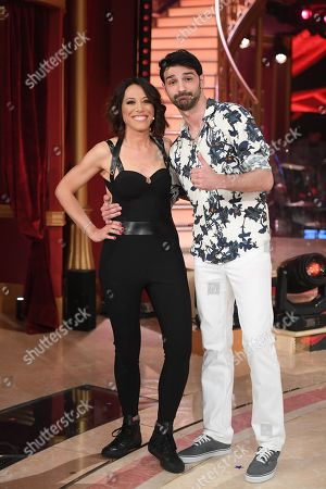 Editorial photo of 'Dancing with the stars' TV show, Rome, Italy - 06 Apr 2019