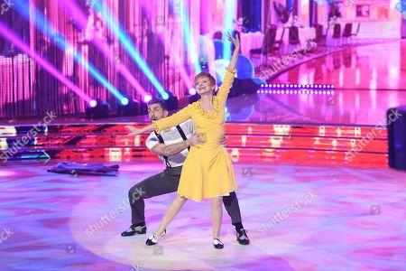 Milena Vukotic and Simone Di Pasquale