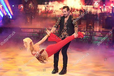 Dani Osvaldo and Veera Kinnunen