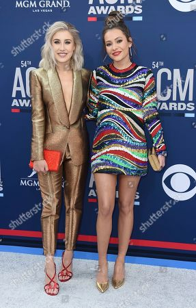 Editorial image of 54th Annual Academy of Country Music Awards - Arrivals, Las Vegas, USA - 07 Apr 2019