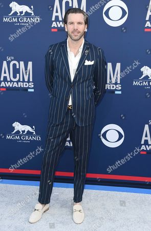 TK McKamy arrives at the 54th annual Academy of Country Music Awards at the MGM Grand Garden Arena, in Las Vegas