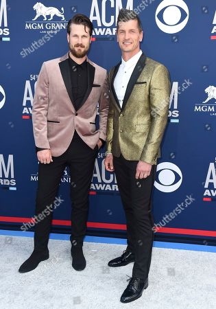 Curtis Rempel, Brad Rempel. Curtis Rempel, left, and Brad Rempel, of High Valley, arrive at the 54th annual Academy of Country Music Awards at the MGM Grand Garden Arena, in Las Vegas