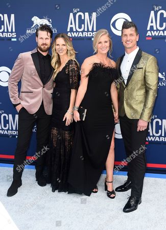 Curtis Rempel, Myranda Rempel, Rebekah Rempel, Brad Rempel. Curtis Rempel, left, and Brad Rempel, right, of High Valley, and from left, Myranda Rempel and Rebekah Rempel arrive at the 54th annual Academy of Country Music Awards at the MGM Grand Garden Arena, in Las Vegas