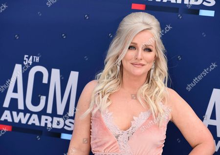 Jessie Jo Dillon arrives at the 54th annual Academy of Country Music Awards at the MGM Grand Garden Arena, in Las Vegas