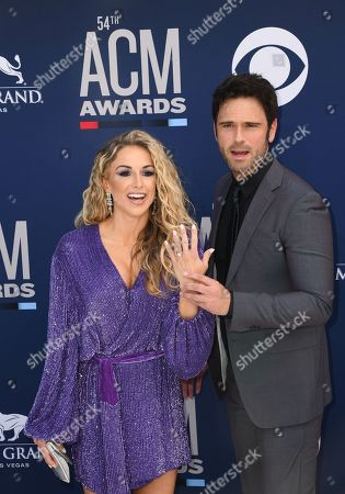 Stock Image of Kasi Williams and Chuck Wicks, engagement ring detail