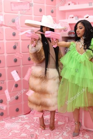 Stock Picture of Cardi B and Hennessy Carolina
