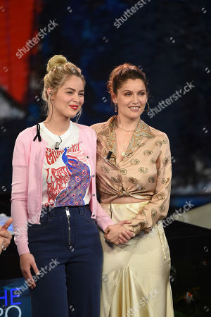 Marie-Ange Casta and Laetitia Casta