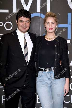 Marie-Ange Casta and Riccardo Scamarcio