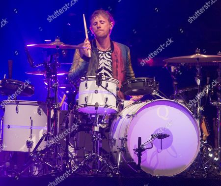 Stock Photo of Muse - Dominic Howard