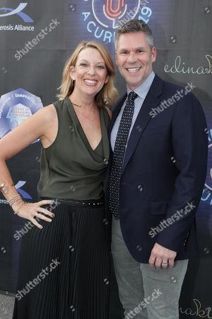 Jill Benjamin and John Henson