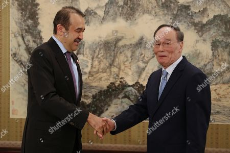 Editorial image of Chairman of the National Security Council of Kazakhstan visits Beijing, China - 08 Apr 2019