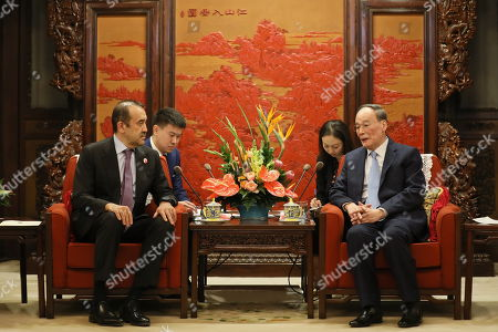 Editorial photo of Chairman of the National Security Council of Kazakhstan visits Beijing, China - 08 Apr 2019