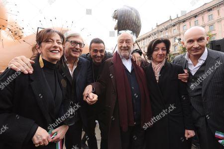 Silvana Annichiarico, Vittorio Sgarbi, Fabio Novembre, Gaetano Pesce, Cristina Tajani, Mattia Martinelli
