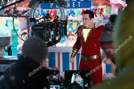 Editorial photo of 'Shazam!' Film - 2019