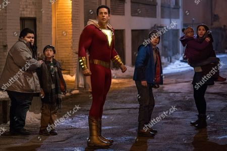 Editorial image of 'Shazam!' Film - 2019