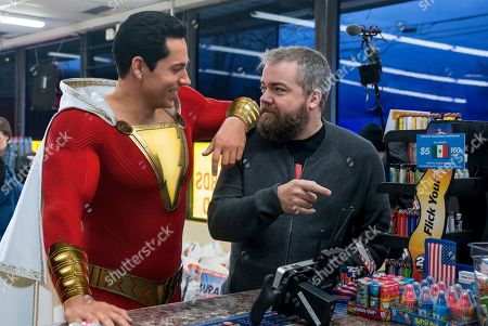 Zachary Levi as Shazam and David Sandberg Director