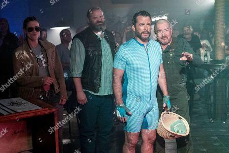 Heath McGough as Red Neck Tom, Jason Jones as Nate Parker and Graham Greene as Narvin