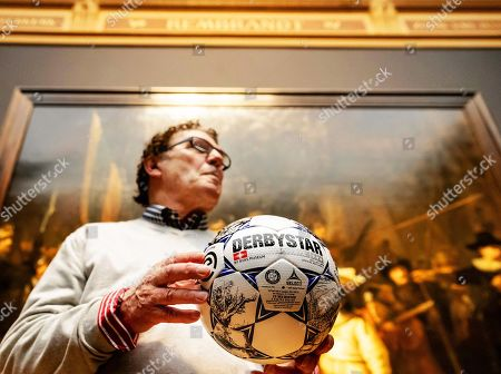 Editorial image of New official Eredivisie matchball, Amsterdam, Netherlands - 08 Apr 2019