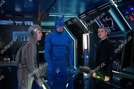 Griffin Newman as Arthur Everest, Peter Serafinowicz as The Tick and Valorie Curry as Dot Everest
