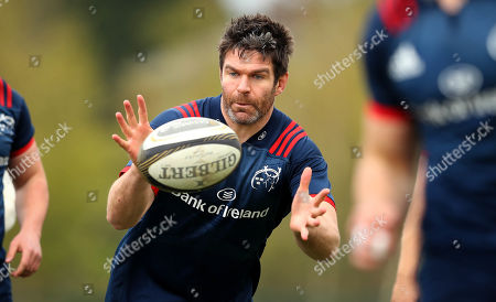 Editorial photo of Munster Rugby Squad Training, UL, Limerick  - 08 Apr 2019