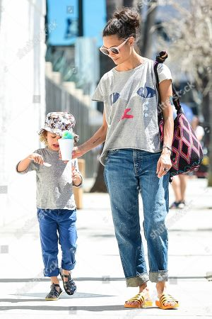 Editorial photo of Thandie Newton out and about, Los Angeles, USA - 07 Apr 2019