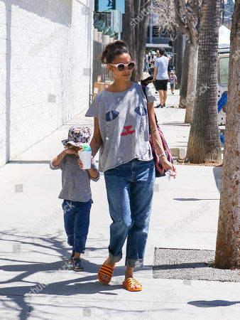 Editorial picture of Thandie Newton out and about, Los Angeles, USA - 07 Apr 2019