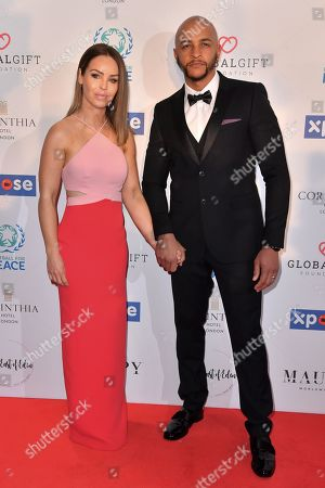 Stock Picture of Katie Piper and Richard James Sutton