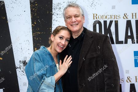 Editorial picture of 'Oklahoma!' Broadway musical opening night, Arrivals, Circle in the Square Theatre, New York, USA - 07 Apr 2019