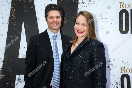 Editorial image of 'Oklahoma!' Broadway musical opening night, Arrivals, Circle in the Square Theatre, New York, USA - 07 Apr 2019