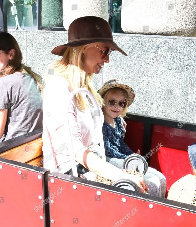 Jessica Collins and daughter Jemma Cooney