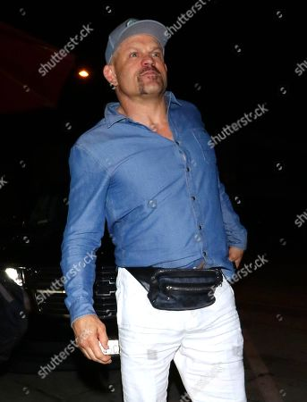 Editorial photo of Chuck Liddell out and about, Los Angeles, USA - 07 Apr 2019