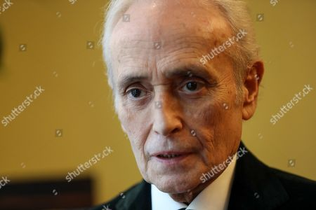 Spanish tenor Jose Carreras speaks during an interview ahead of the German Science gala event where he received the award 'Science foundation of the Year 2019' for the German affiliate of the 'Jose Carreras International Leukemia Foundation' in Berlin, Germany, 08 April 2019. Carreras established the 'José Carreras International Leukaemia Foundation' in 1988, as an institution that supports the research and treatment of leukemia in different fields. Carreras also performs regularly in charity concerts in aid of his foundation and other medical related charities.