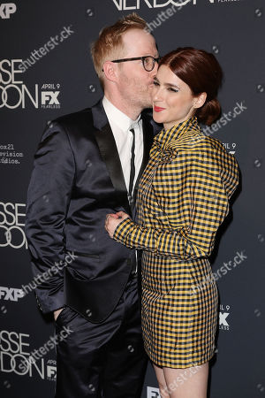 Stock Picture of Josh Alexander and Aya Cash
