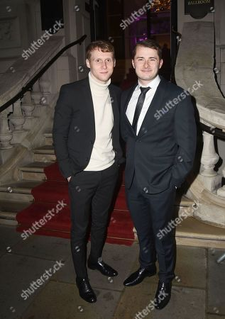 Jamie Borthwick and Max Bowden