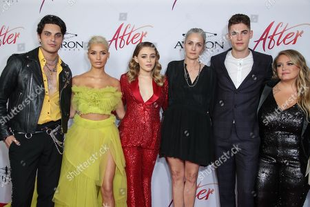 Editorial picture of 'After' film premiere, Los Angeles, USA - 08 Apr 2019