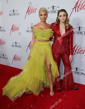 Pia Mia Perez and Josephine Langford