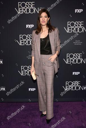"Jennifer Carpenter attends the premiere screening of FX's ""Fosse/Verdon"" at the Gerald Schoenfeld Theatre, in New York"