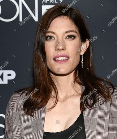 """Stock Image of Jennifer Carpenter attends the premiere screening of FX's """"Fosse/Verdon"""" at the Gerald Schoenfeld Theatre, in New York"""