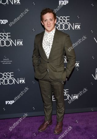 """Ethan Slater attends the premiere screening of FX's """"Fosse/Verdon"""" at the Gerald Schoenfeld Theatre, in New York"""
